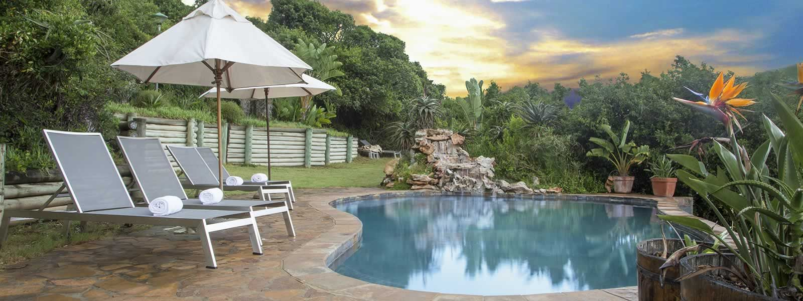 Thunzi Bush Lodge is located in the tranquil sanctuary of