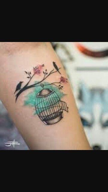 Gaiola Vazia Tatuagem Tatuagem Delicada Tatuagens De Gaiola