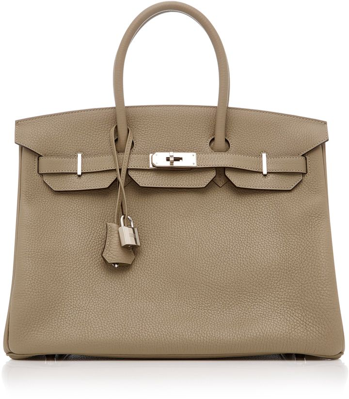 Heritage Auctions Special Collection Hermès 35cm Sage Clemence Leather Birkin fu5z4V9S