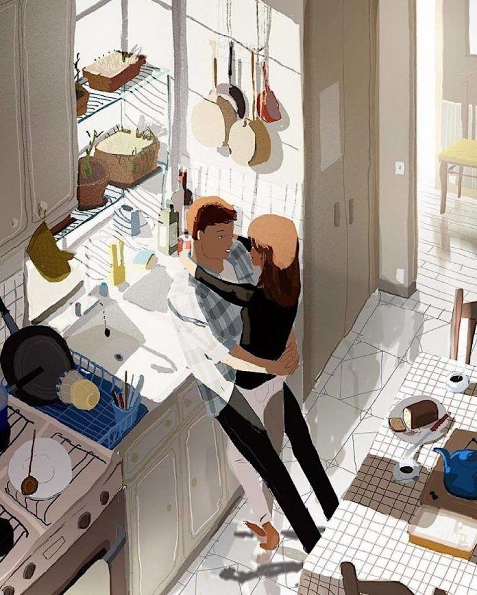 Es sind die kleinen Dinge, die zählen: Illustrationen vom nicht alltäglichen Alltag der Liebe - KlonBlog