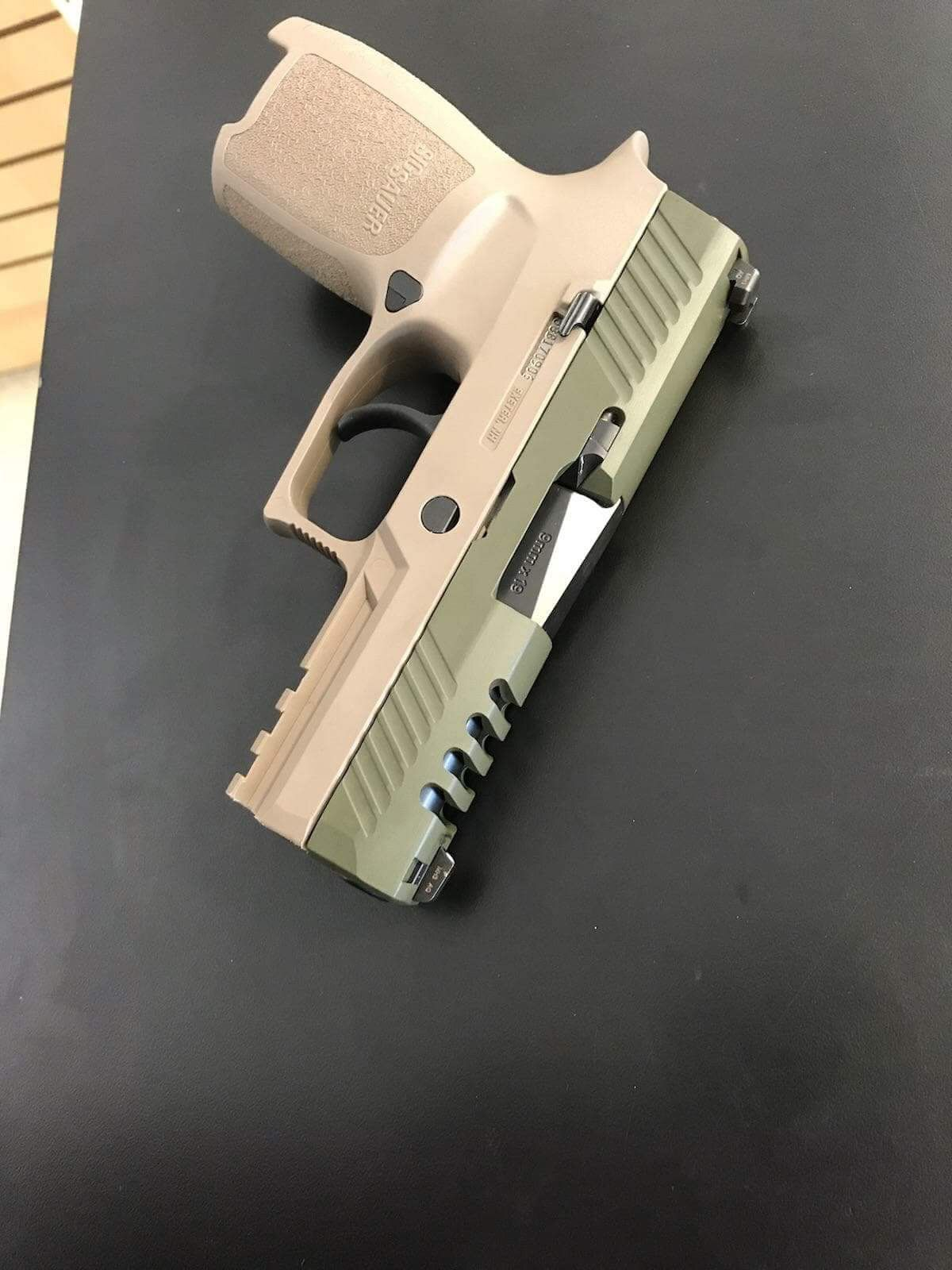Custom Sig P320  Ported and Cerakoted slide  | Guns | Sig