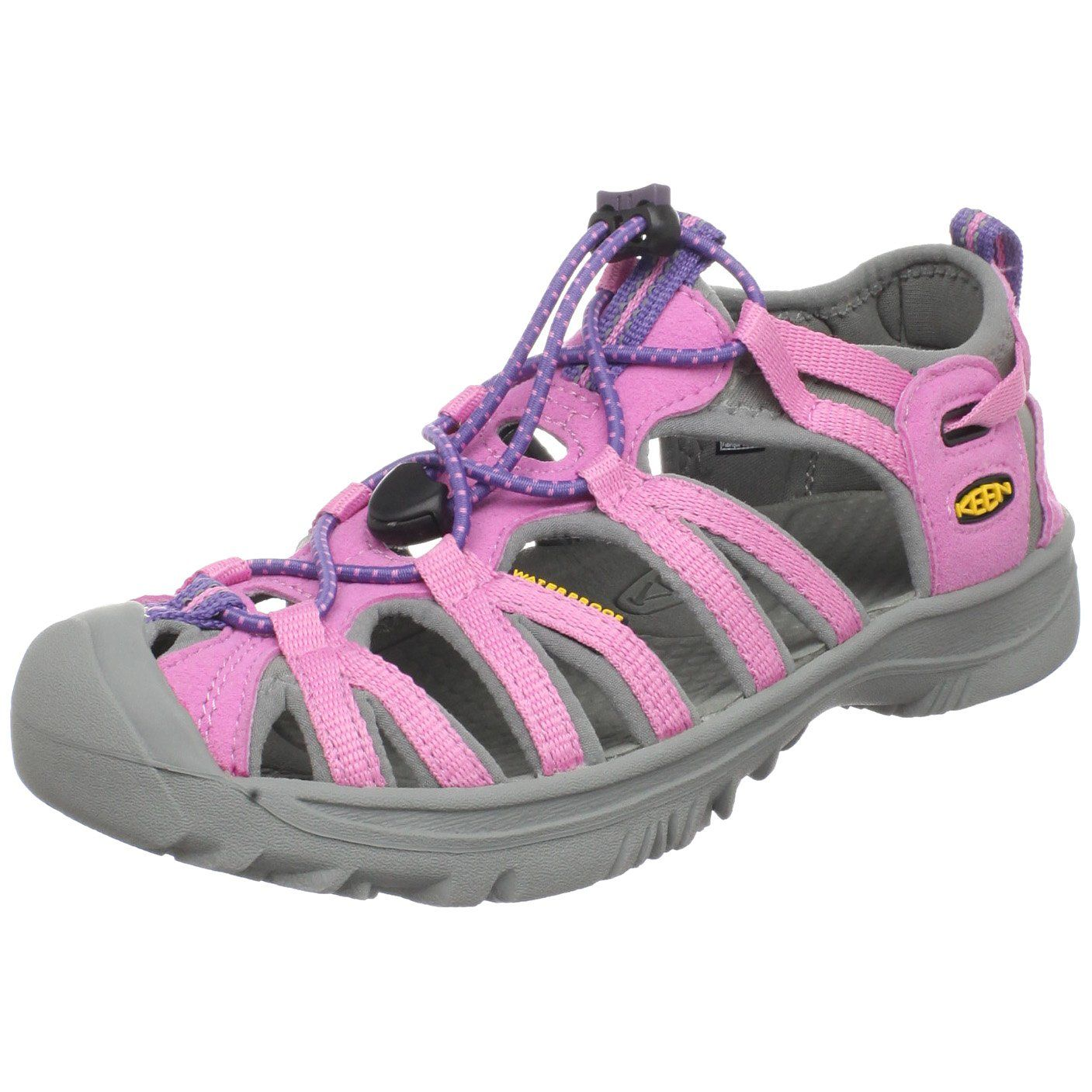 985200d59e29 KEEN Whisper Hook and Loop Sandal (Toddler Little Kid) The WHISPER sport  sandal will become an instant favourite for your active little ones!
