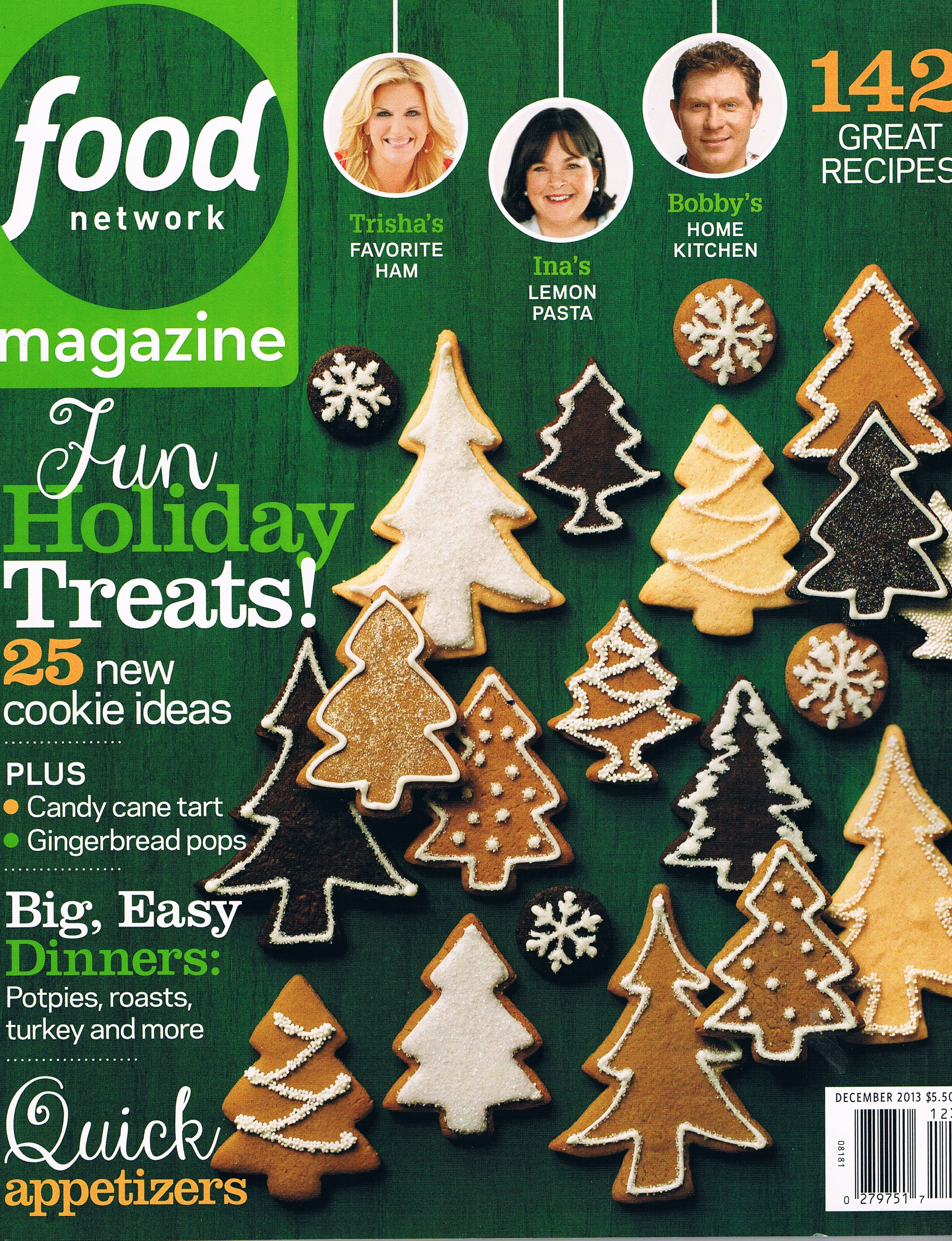 Food network magazine christmas google search noel front mag 25 new cookie recipes food network magazine december 2013 volume 6 number 10 forumfinder Gallery