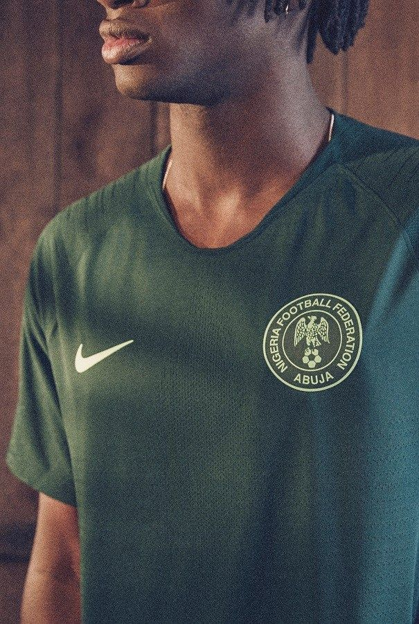bafe8df74 Nigeria 2018 World Cup Nike Home and Away Football Kit