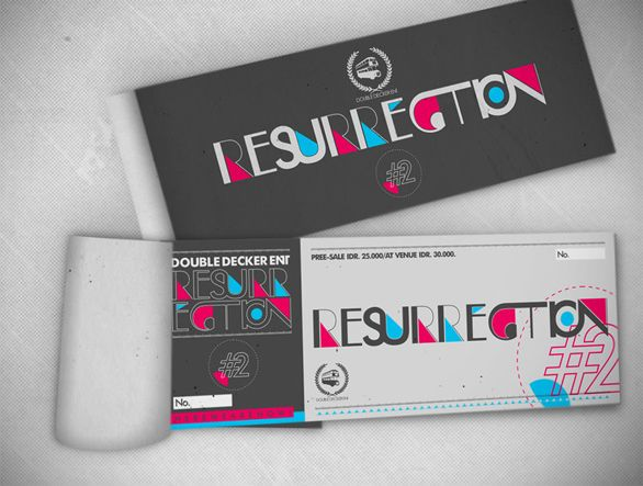 15 Custom Event Tickets to Feast Your Eyes On Brand Image and - how to design a ticket for an event