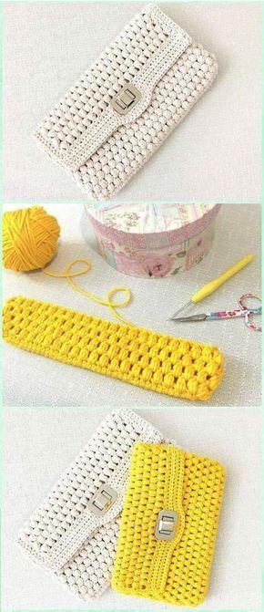 Crochet puff clutch free diagram crochet clutch bag canta crochet puff clutch free diagram crochet clutch bag ccuart Gallery