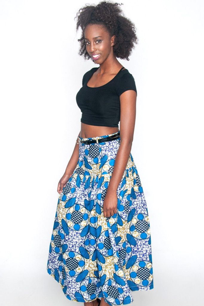 Natalie Skirt - Shop #AfricanFashion at Kuwala!