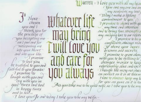Traditional Wedding Vows Examples Of Personal
