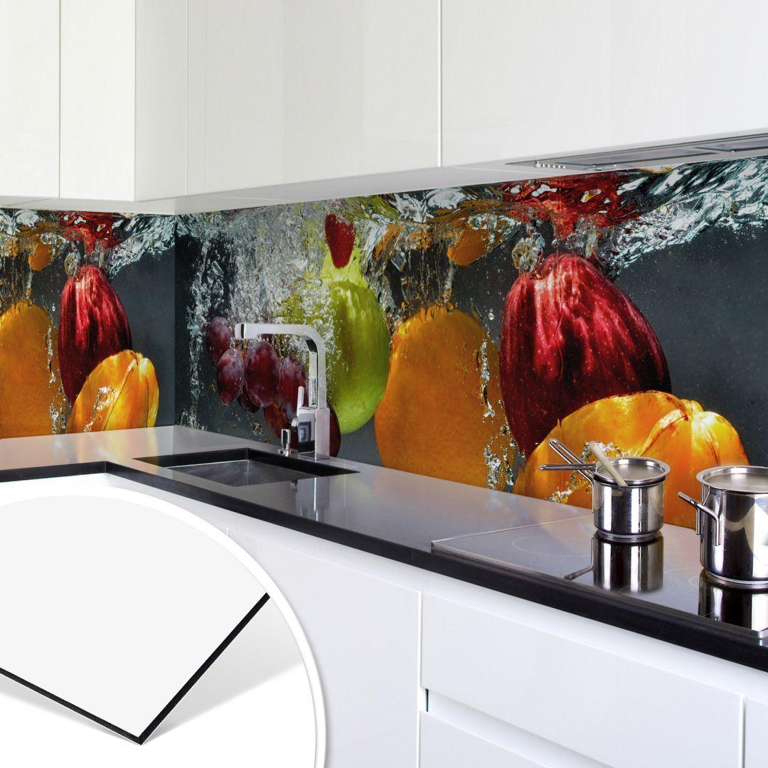 Küchenrückwand - Alu-Dibond - Erfrischendes Obst | Kitchens