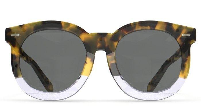 dde095778cf6 Crazy Tort clear gold W g15mono Lenses Super Duper Thistle by Karen Walker