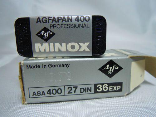 Vintage Minox ASA 400 Agfapan Film 1 36 Exp Roll