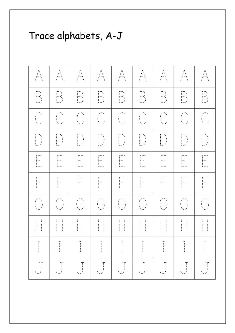 Free Printable Letters Worksheet In 2020 Letter Worksheets Tracing Letters Alphabet Worksheets Free [ 1400 x 989 Pixel ]