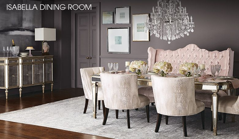 Sophisticated Mirrored Dining Room Buffet Pictures   Best Ideas .