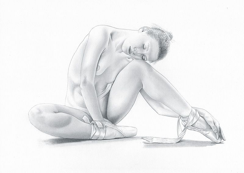 Erotic pencil sketches