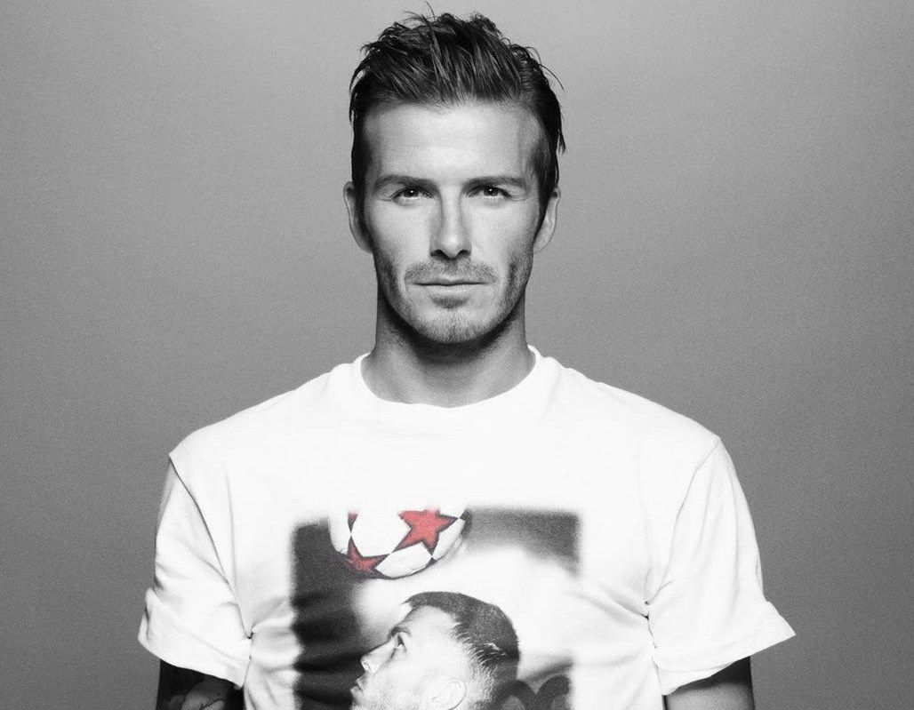 Black And White David Beckham Wallpaper