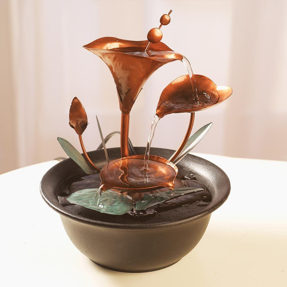indoor water lilies fountain best christmas gift ideas for parents who have everything - Christmas Gift Ideas For Parents Who Have Everything