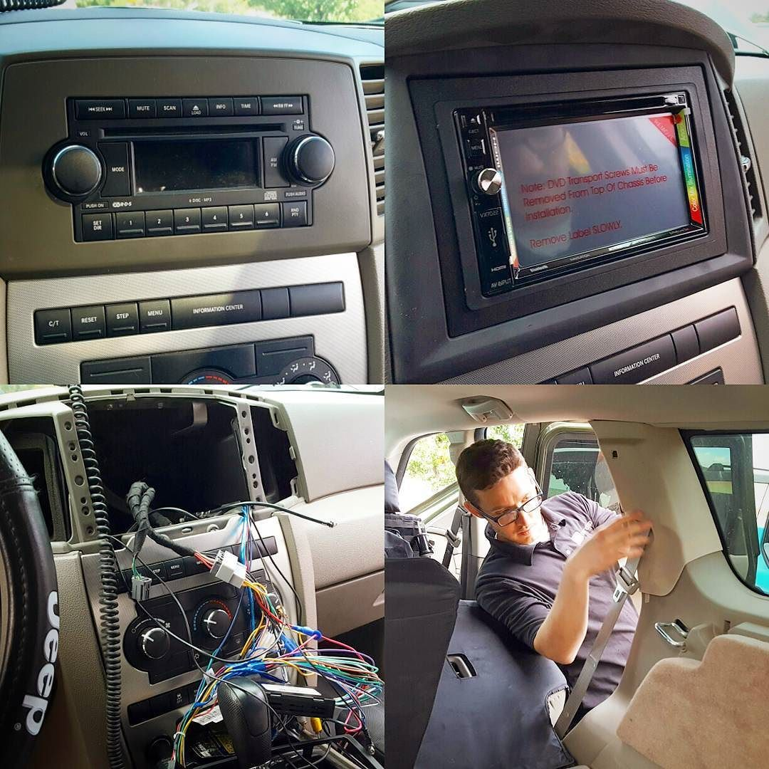 Before And After Jensen Head Unit Metra Dash Kit Wireharness Jl Transport Wire Harness Stealth Sub Backup Camera Install Today Sounds Great A Perfect Fit