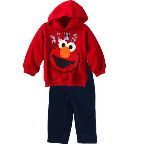 Sesame Street Elmo 2pc Toddler Set - Fleece Hoodie & Pants Sesame Street, http://www.amazon.com/dp/B002YUIND0/ref=cm_sw_r_pi_dp_60F-qb1RV3PJG