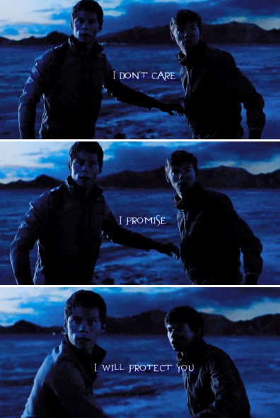 #thescorchtrials - thomas and newt