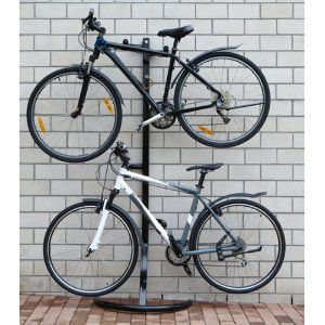 Garage Storage 2 Bike Stand Floor And Wall Mount Amazon Co Uk Sports Outdoors Outdoor Bike Storage Garage Storage Bike Stand
