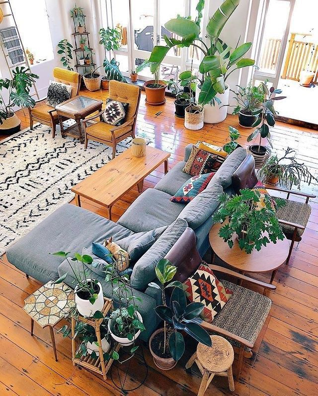 30 Boho Living Room Ideas images