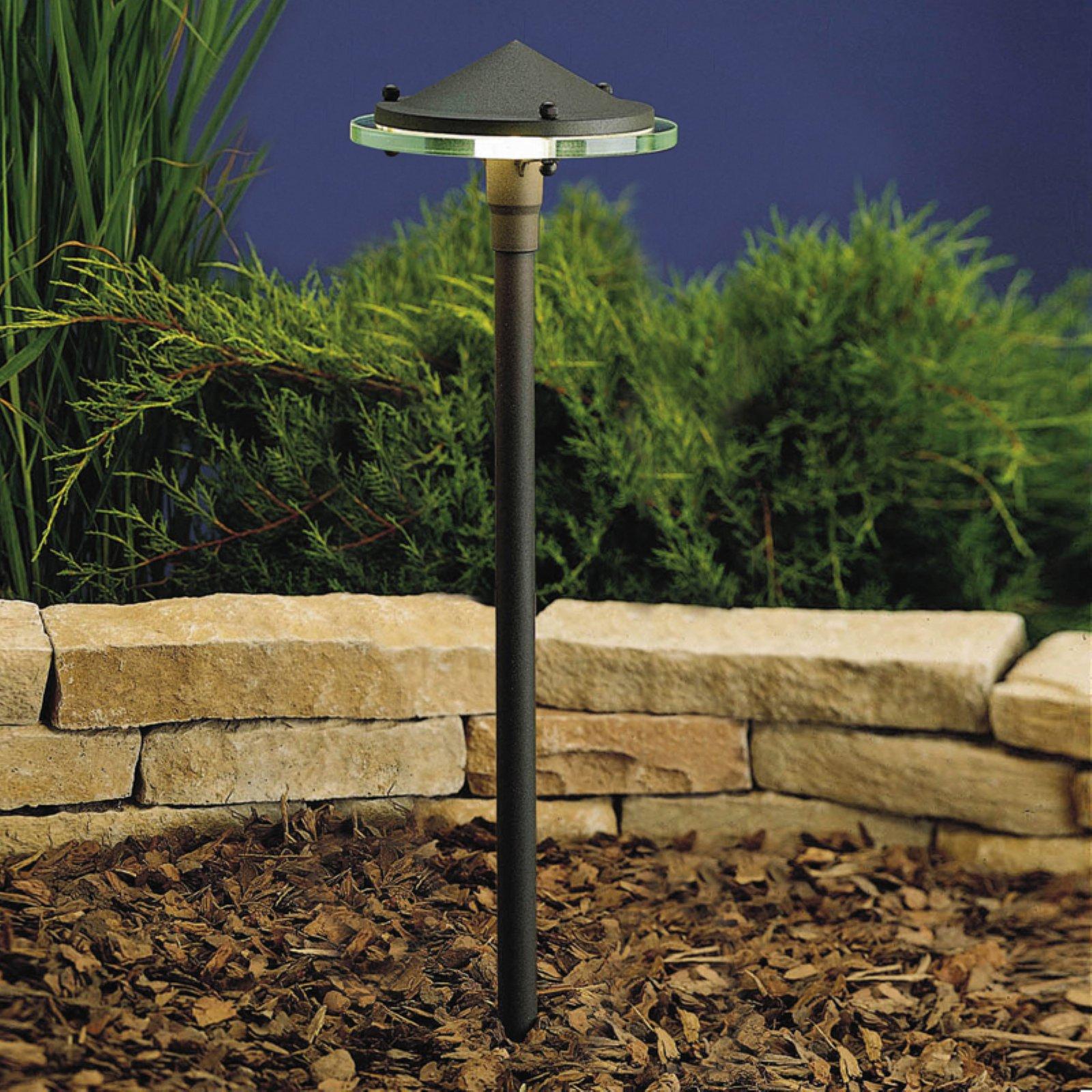 Kichler Glass Metal Landscape Path Light Path Lights Outdoor Path Lighting Landscape Lighting