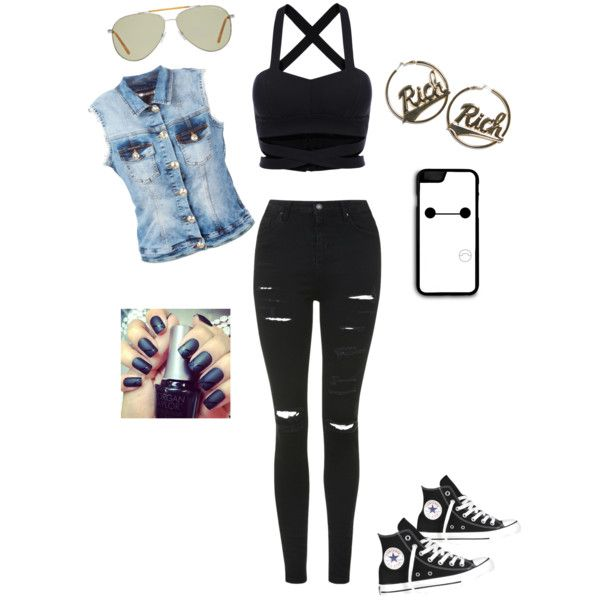 Hipster summer by tdibert on Polyvore featuring polyvore, fashion, style, Philipp Plein, Topshop, Converse, Joyrich and Tom Ford