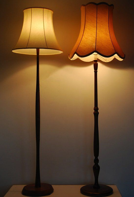 Vintage Standard Lamp This Is Exactly The Kind Of Style We Need