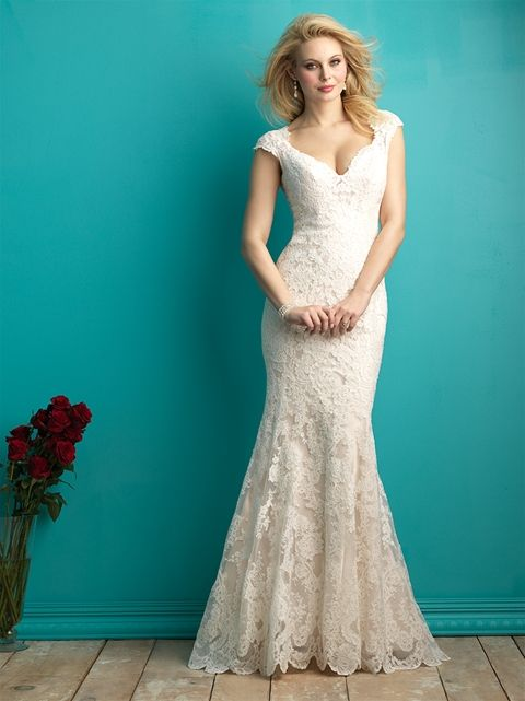 Allure 9264 in Ivory, Sample Size 10 | Manchester-Allure Bridals ...