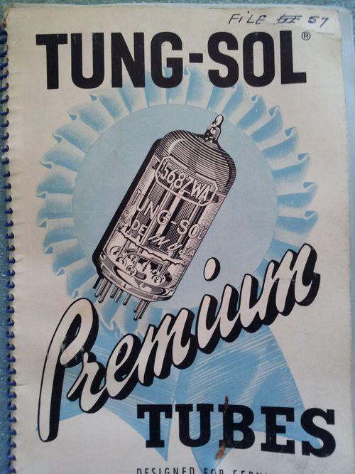 Tung-Sol Electron Vacuum Tube Catalog Manual Radio TV Book | Vacuum ...