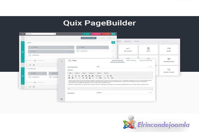 Quix Pagebuilder Pro es el primer y mejor constructor de sitios de ...