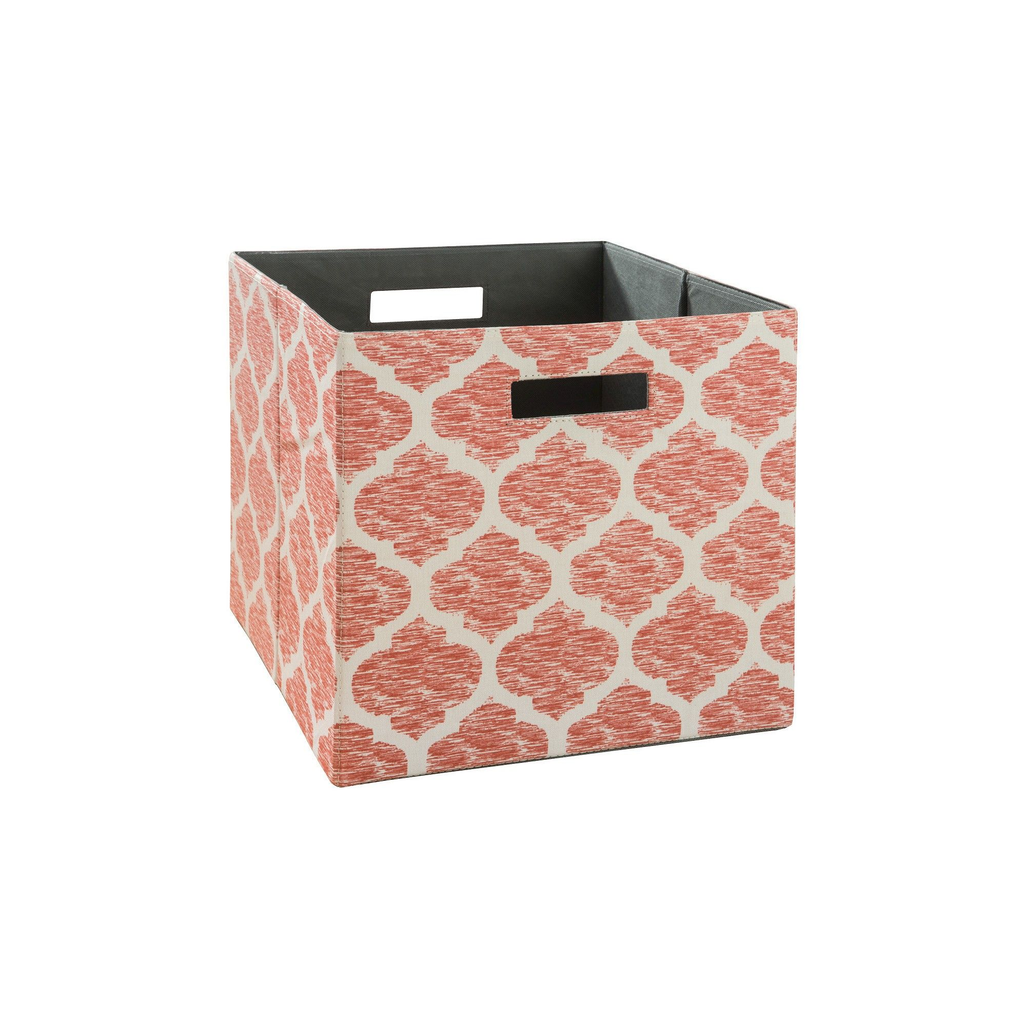 Delicieux Fabric Cube Storage Bin 13   Coral Pattern   Threshold Cube Storage, Storage  Bins,