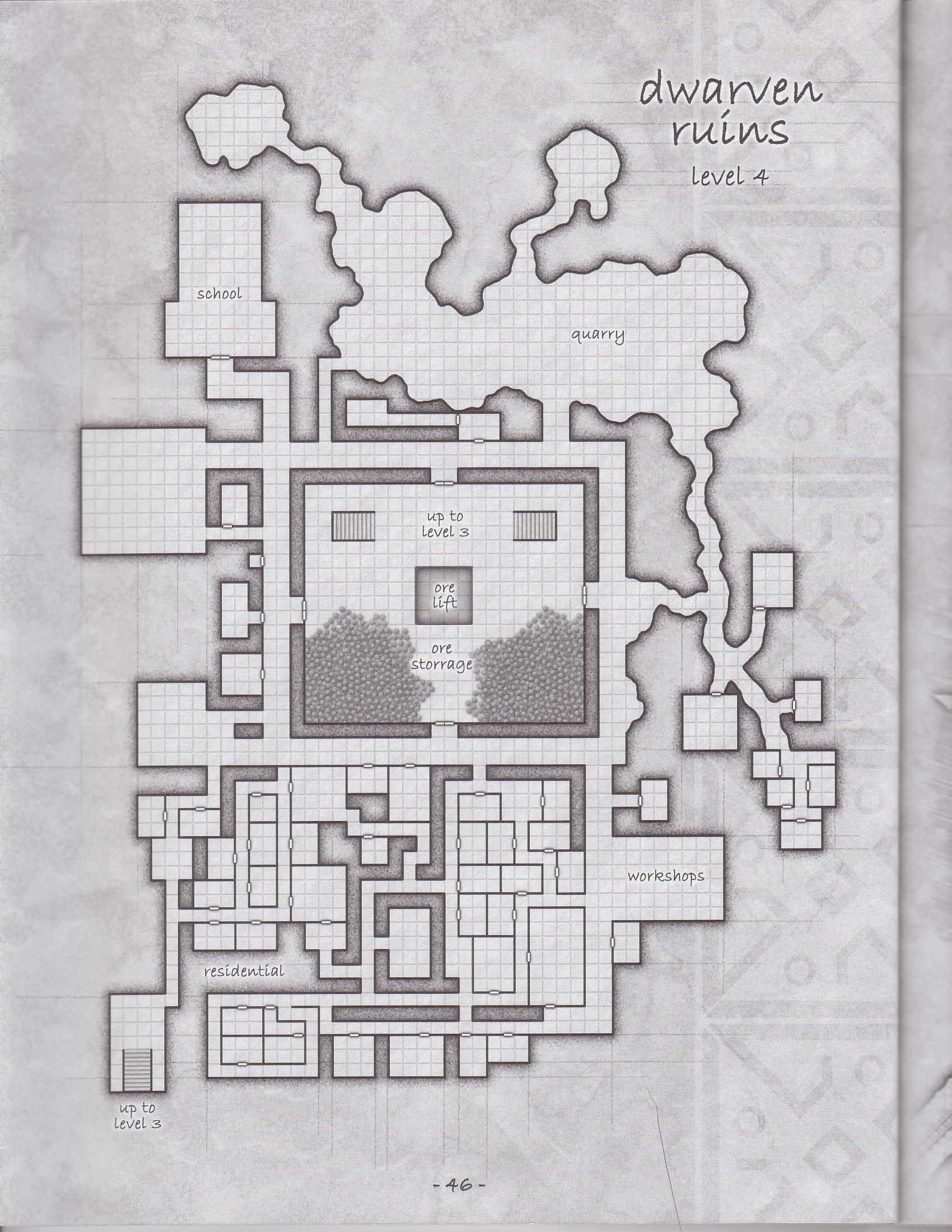Its a dungeon 1 of 3 rpg maps pinterest rpg fantasy for Floor 2 dungeon map