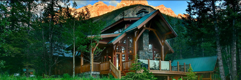 Luxury Log Cabins & Mountain lodge, Luxury