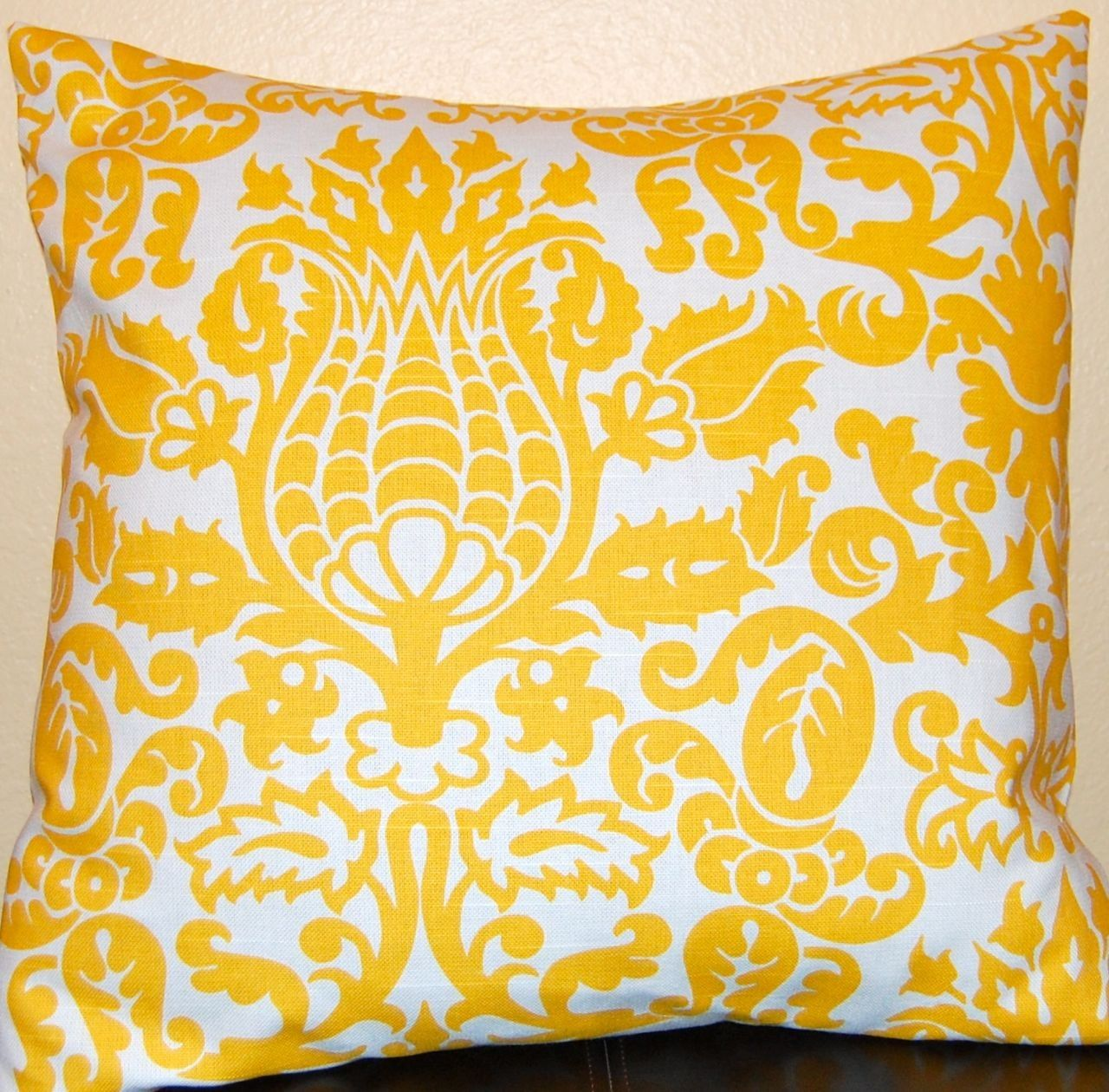 Cojines Decorativos Azules Yellow Pillow Covers Accent Pillows 18 X 18 Inches