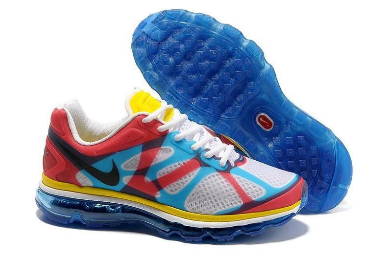 sports shoes a98a4 e2e30 Nike Air Max 2012 NRG Running Shoes 532307 100 White/Black-Soar ...