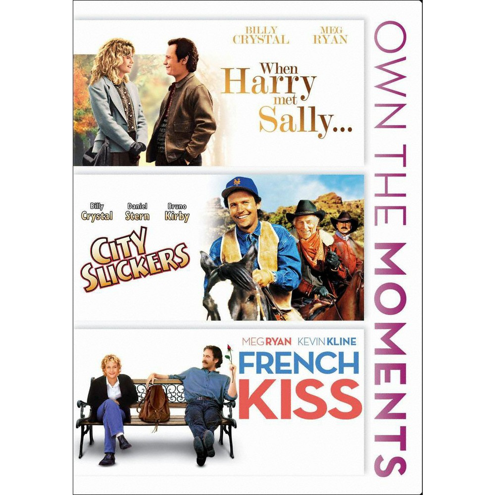 When Harry Met Sally/City Slickers/French Kiss (dvd_video)
