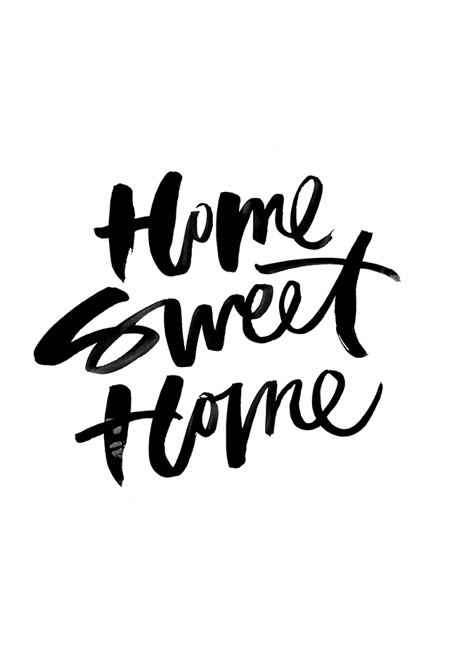 NEW PRINTS HOUSE Pinterest Prints Typography And Inspirational - Inspirational words for new home