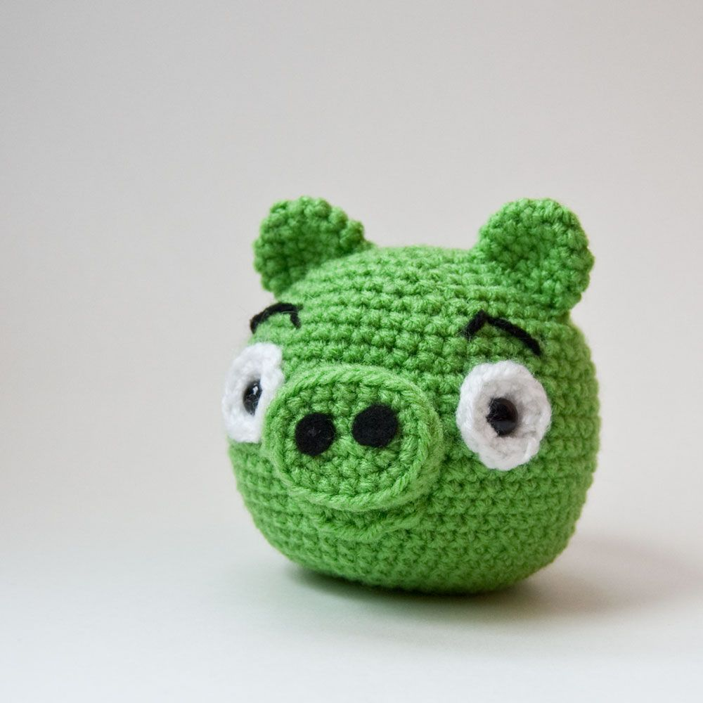 The Itsy Bitsy Spider Crochet: The Angry Birds Pig Pattern is READY!