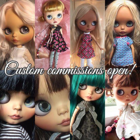 Comisión para las muñecas Blythe customizadas. Precio es