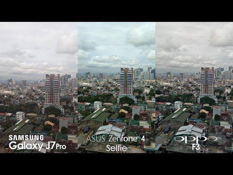ASUS Zenfone 4 Selfie vs OPPO F3, Samsung Galaxy J7 Pro