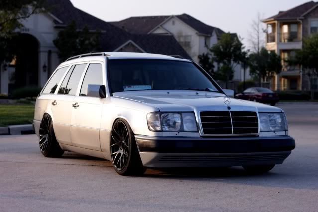 Fs 1991 Mercedes Benz 300te W124 Wagon Modded Lowered Clean