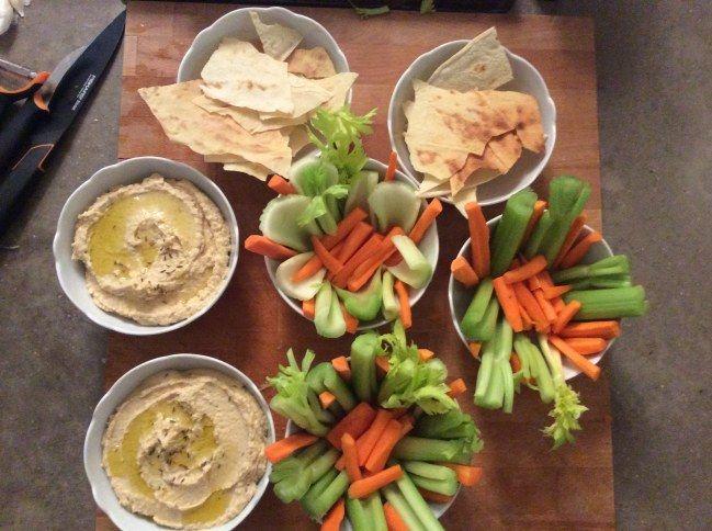 Hummus, carote e sedano! Scopri la ricetta di #Tuttogusto e Fornelli a spillo evento di cucina