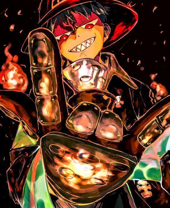 Feuerkraft Kusakabe Shinra Kunst FireForce KusakabeShinra anime art #anime #feuerkraft #fireforce #kunst #kusakabe #kusakabeshinra #shinra