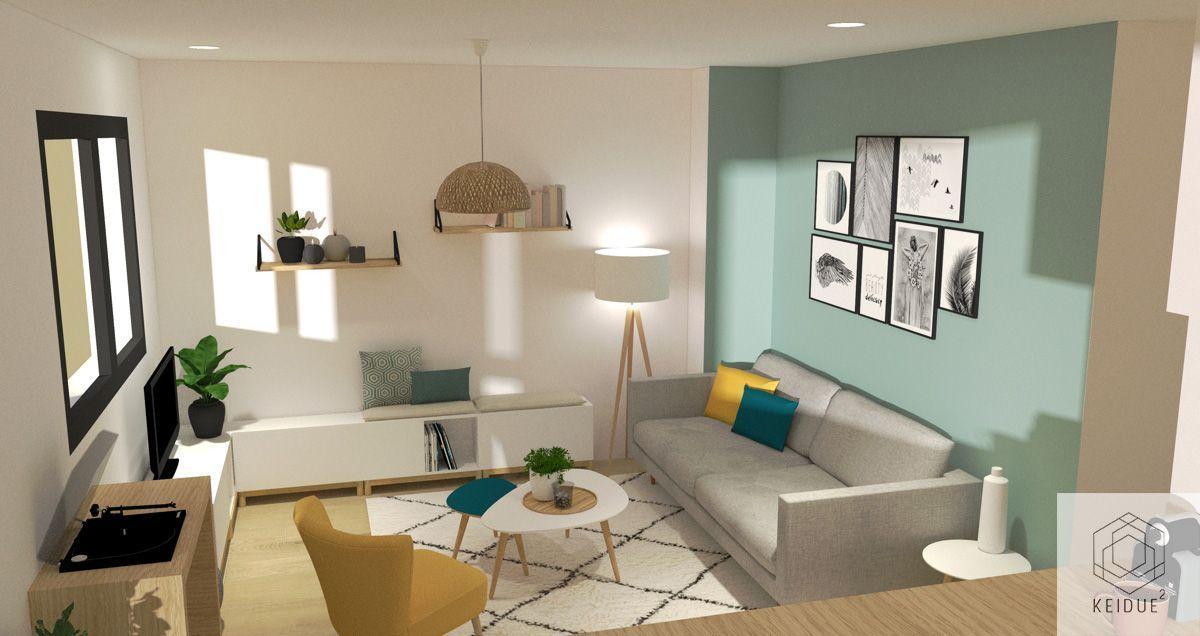 DÉCO SALON #salleamangercocooning Keidue² / Architecture Intérieure - Montpellier & Lyon - www.keidue.com . #couleur #peinture #interieur #home #maison #appartement #chambre #design #boho #chic #moderne #canape #scandinav #vintage #cocooning #nature #renovation #montpellier #lyon #architect #blog #idee #deco #decoration #matiere #tendance #lifestyle #bleu #vert #gris #beige #papierpeint #bois #carrelage #cuisine #salon #chambre #salledebain #bureau #bedroom #hygge #parquet #croquis #architect #salleamangercocooning