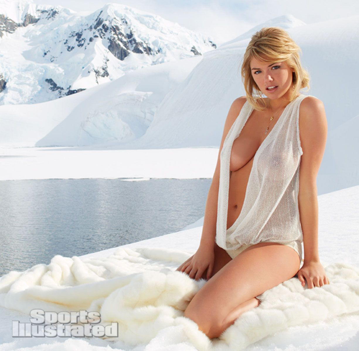 Kate Upton Was Photographed By Derek Kettela In Antarctica