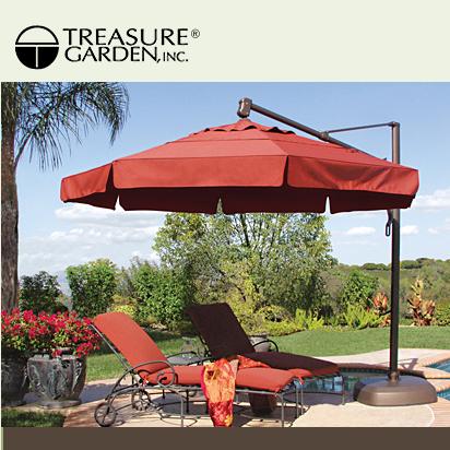 A Treasure Garden Umbrella