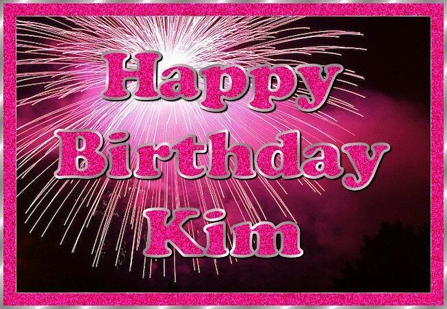 happy birthday kim images Image result for happy birthday kim | Happy birthday | Happy  happy birthday kim images