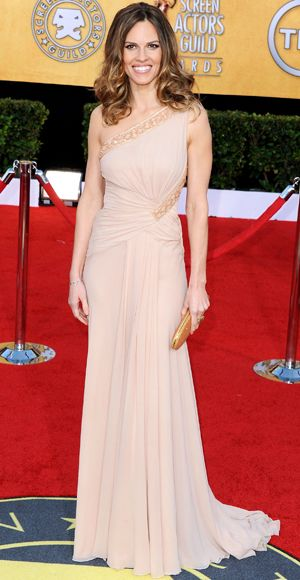 Hilary Swank in Versace at the 17th Annual SAG Awards, January 2011