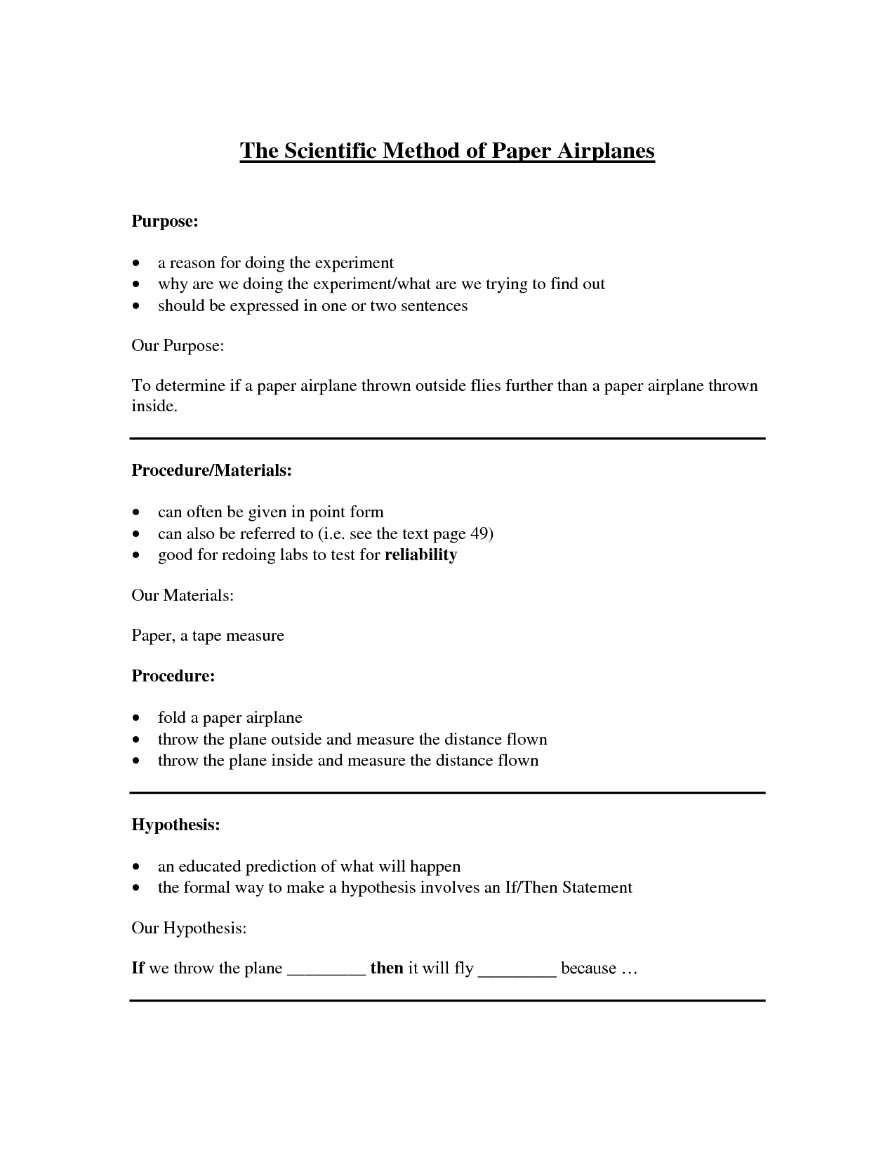 Foldables for Science | The Scientific Method of Paper ...